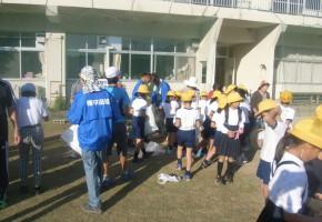 本地小学校 通学路清掃運動ボランティア